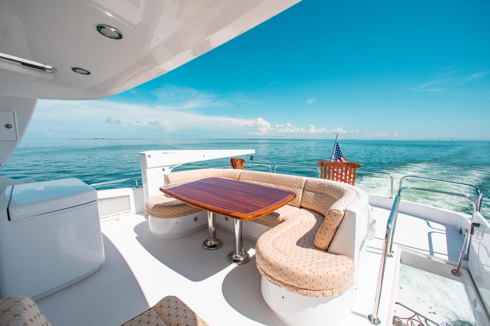 Hatteras-80 Motor Yacht 2008-Galati Yacht Sales Trade Anna Maria-Florida-United States-2008 Hatteras 80 Motor Yacht  Galati Yacht Sales Trade  Skylounge Aft Deck-1466256 | Thumbnail