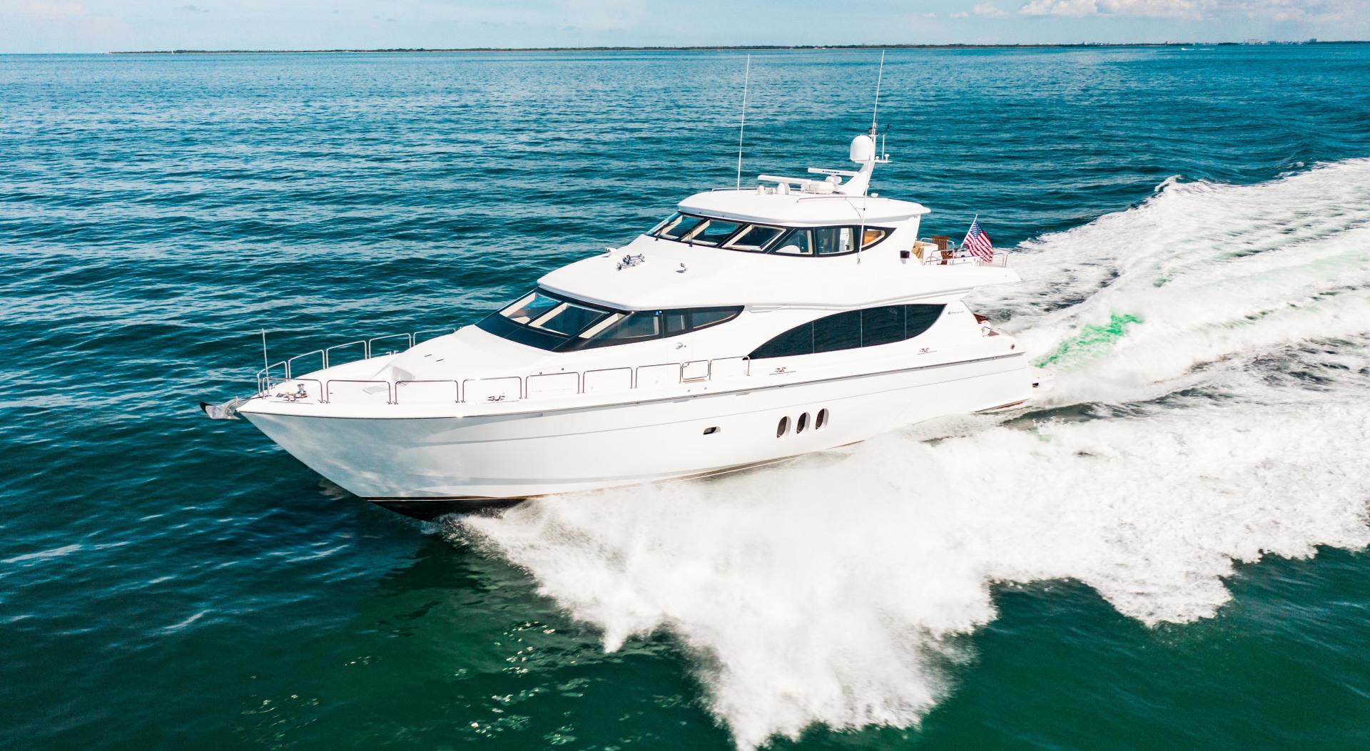 Hatteras-80 Motor Yacht 2008-Galati Yacht Sales Trade Anna Maria-Florida-United States-2008 Hatteras 80 Motor Yacht  Galati Yacht Sales Trade-1466279 | Thumbnail