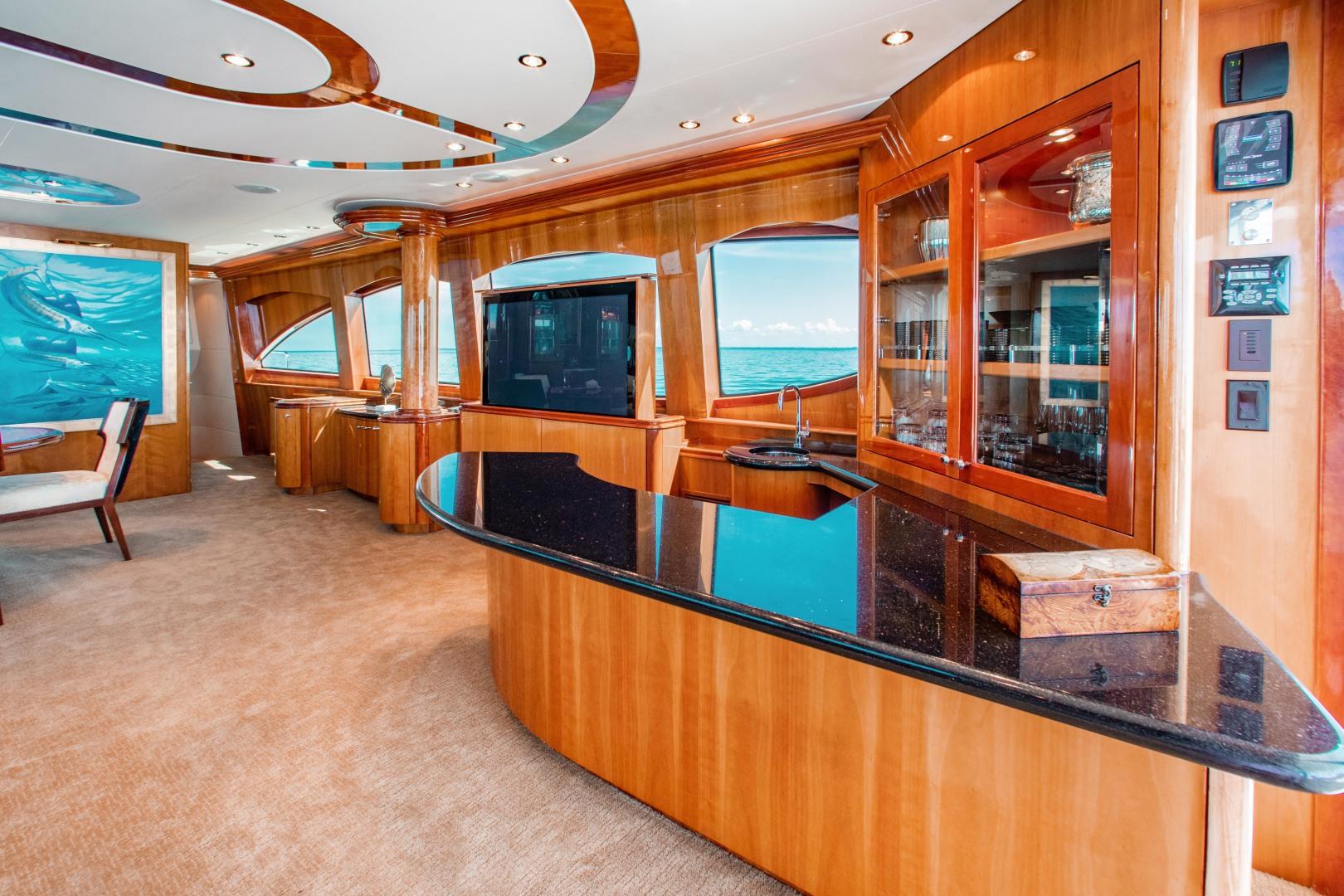 Hatteras-80 Motor Yacht 2008-Galati Yacht Sales Trade Anna Maria-Florida-United States-2008 Hatteras 80 Motor Yacht  Galati Yacht Sales Trade  Salon-1466249 | Thumbnail