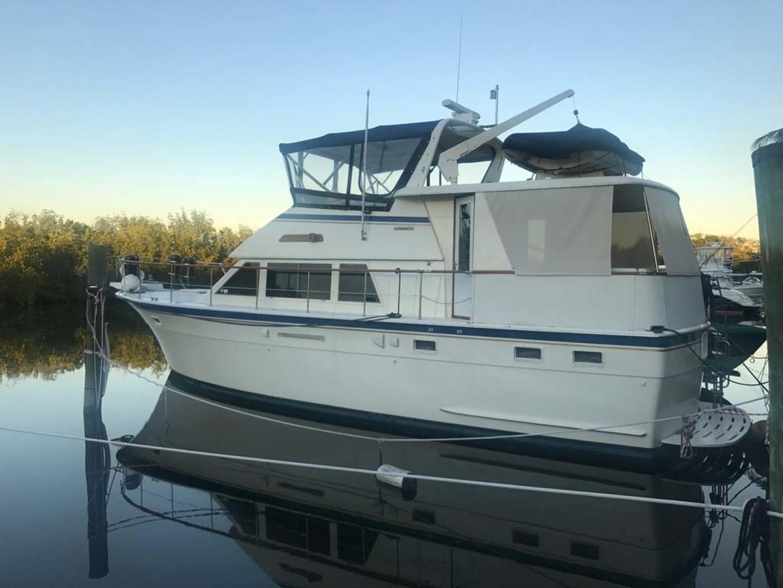 Hatteras-Motor Yacht 1986-Seaview Miami-Florida-United States-Port Aft Profile-1432728 | Thumbnail