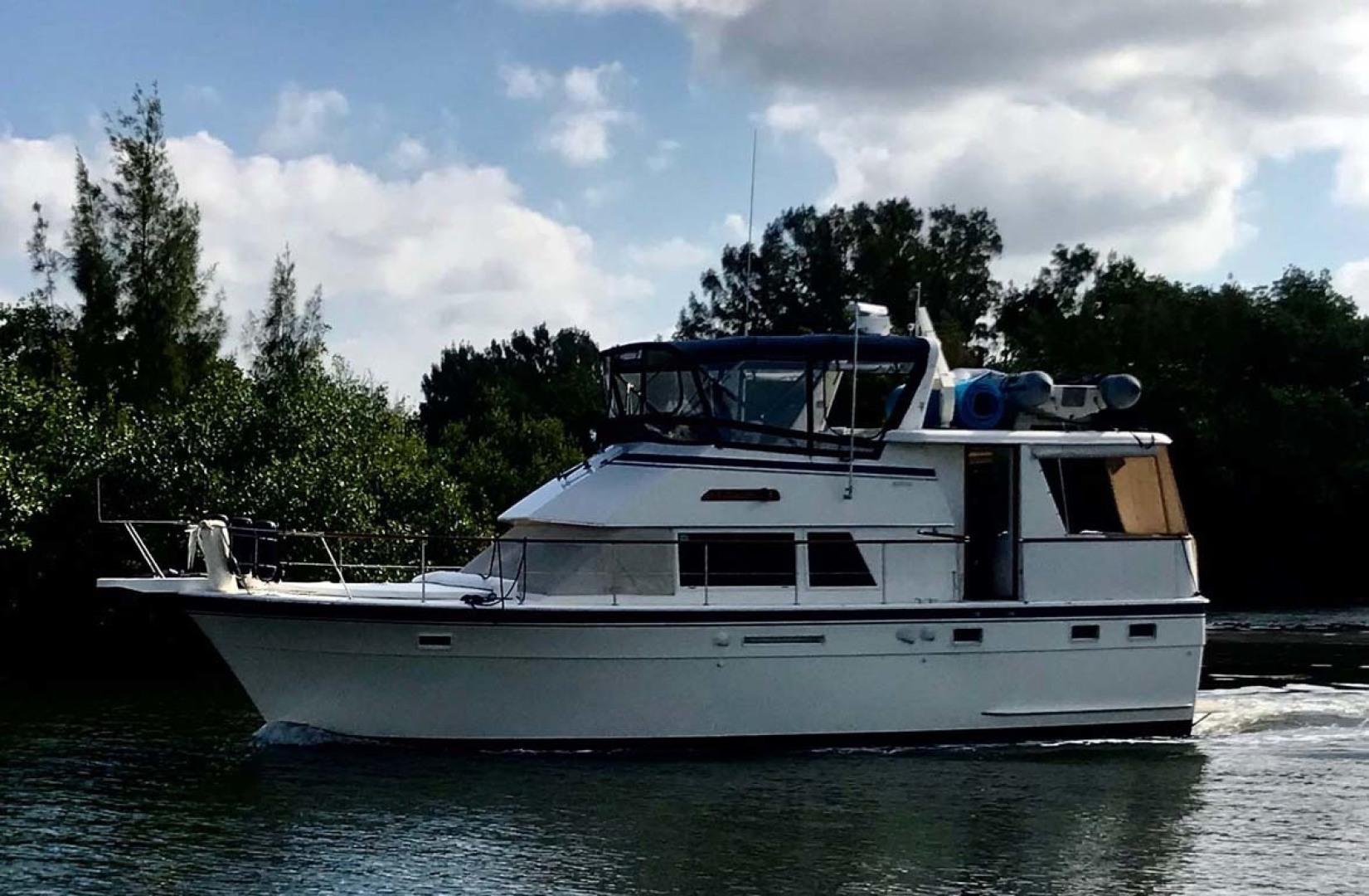 Hatteras-Motor Yacht 1986-Seaview Miami-Florida-United States-Port View-1432718 | Thumbnail
