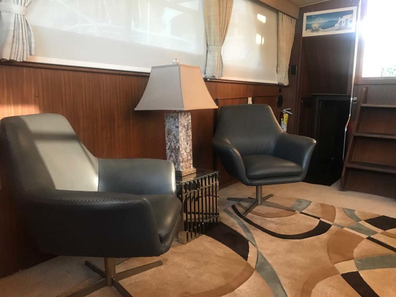Hatteras-Motor Yacht 1986-Seaview Miami-Florida-United States-Salon Stbd Aft-1432708 | Thumbnail