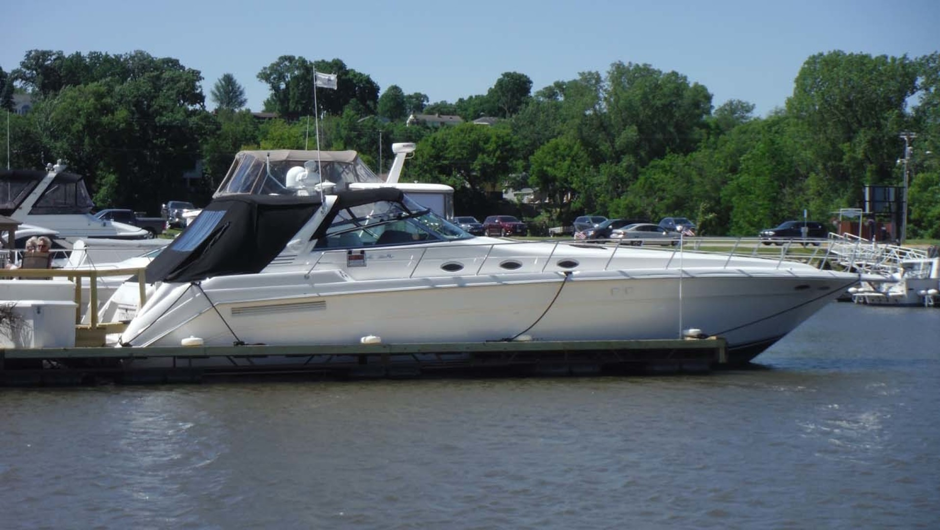 Sea Ray-500 Sundancer 1996-Fifty Shades Red Wing-Minnesota-United States-Starboard View-1432957   Thumbnail