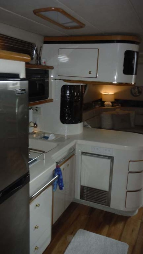 Sea Ray-500 Sundancer 1996-Fifty Shades Red Wing-Minnesota-United States-Galley with Icemaker-1432952   Thumbnail