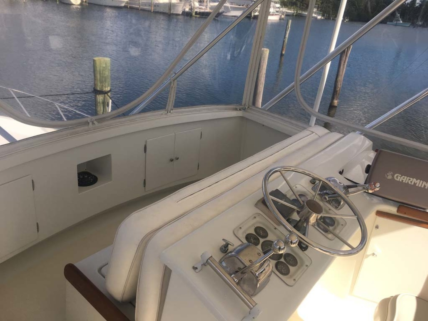Post-Convertible 1979-Businesss Stuart-Florida-United States-Flybridge Forward Seating and Helm-1434351 | Thumbnail