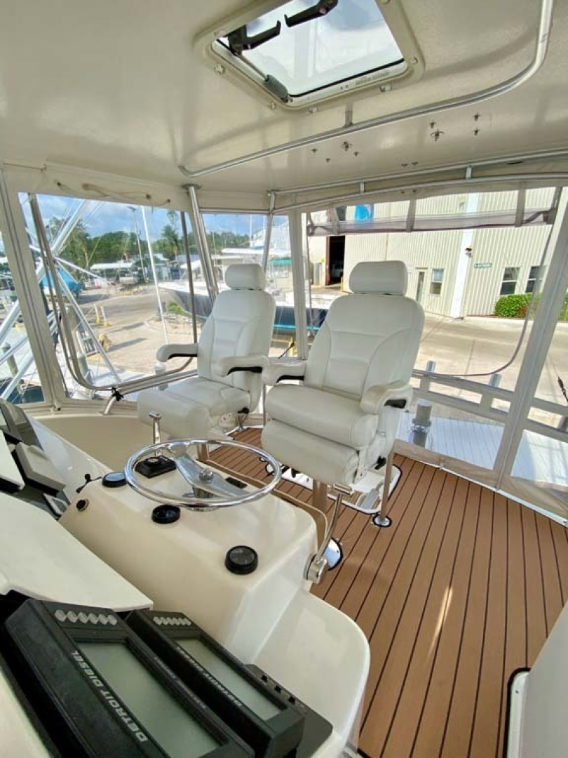 Ocean Yachts-52 SS 2005-Whiskey & Wine Stuart-Florida-United States-Helm Chairs-1434591 | Thumbnail