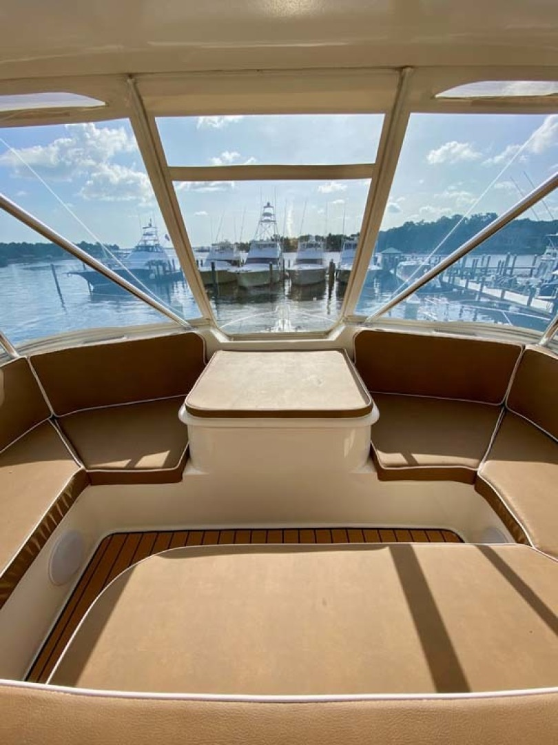 Ocean Yachts-52 SS 2005-Whiskey & Wine Stuart-Florida-United States-Flybridge Forward Seating-1434584 | Thumbnail