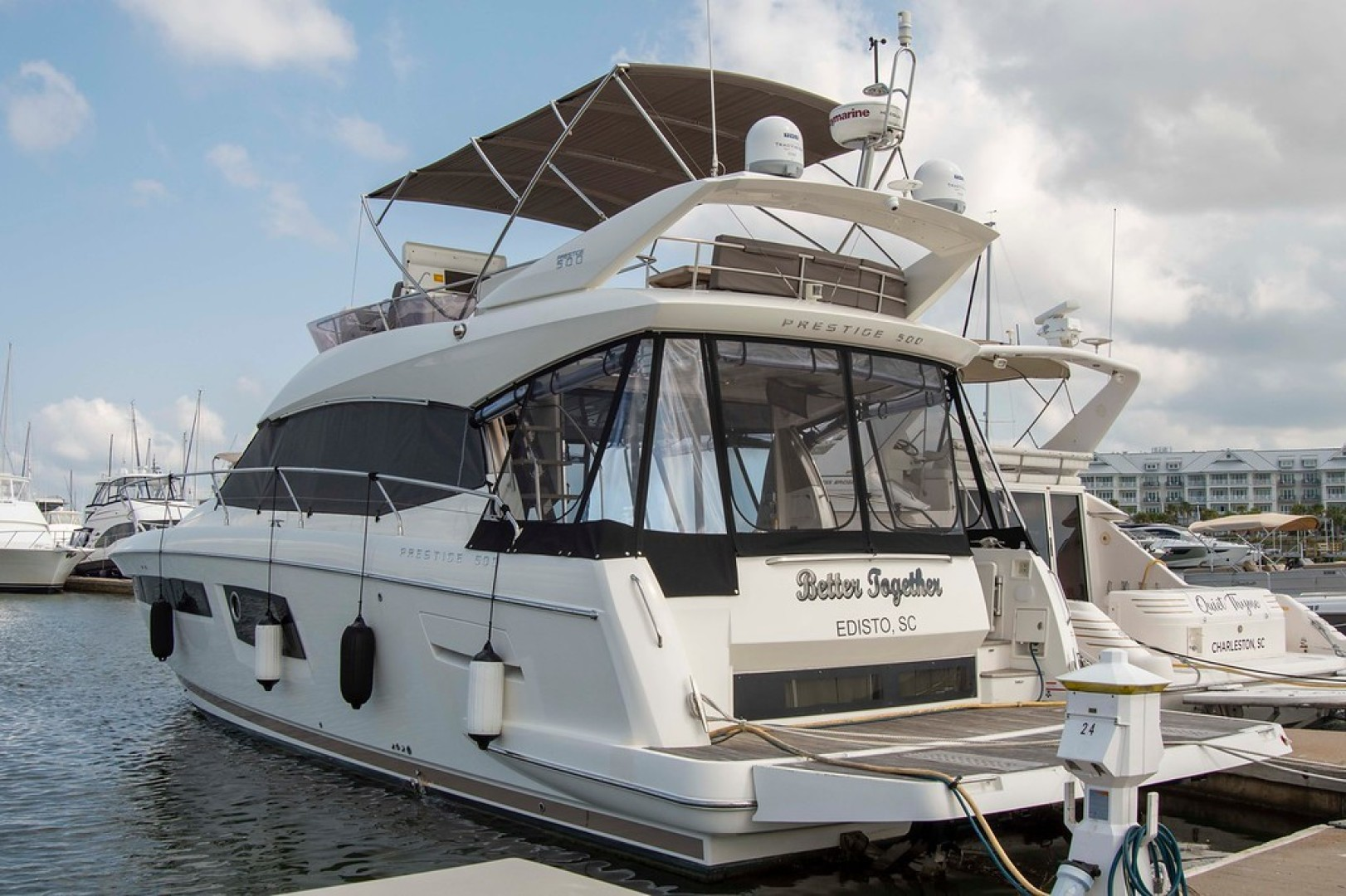 Prestige-500 2017-Better Together Mount Pleasant-South Carolina-United States-Port Aft View-1436282 | Thumbnail