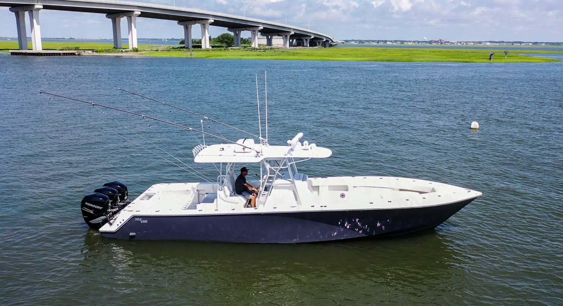 SeaVee-390 B 2019 -Cape May-New Jersey-United States-Main Profile-1438356 | Thumbnail