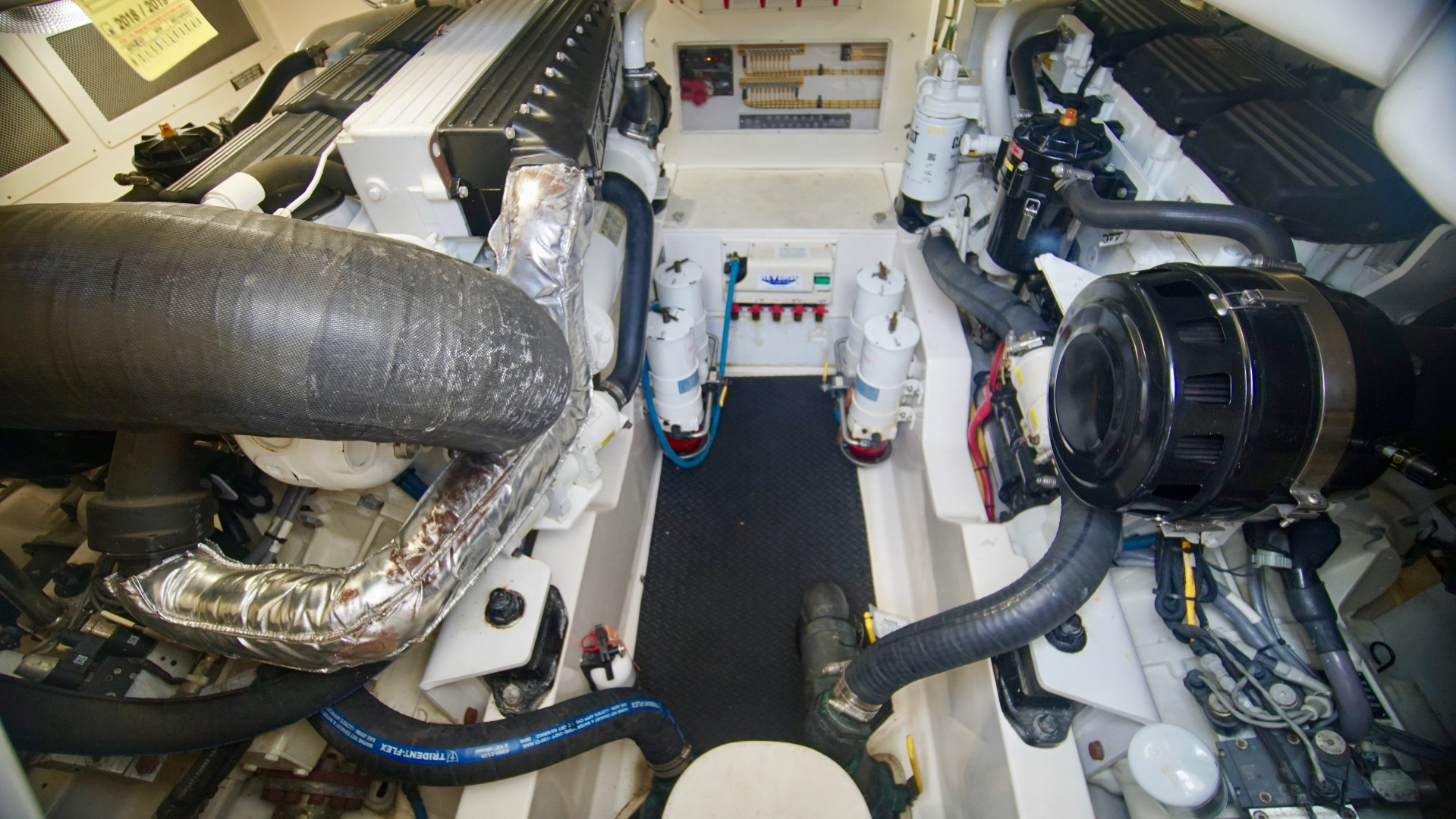 Cabo-40 Convertible 2009-Rip Rider Orange Beach-Alabama-United States-Engine Room-1440134 | Thumbnail