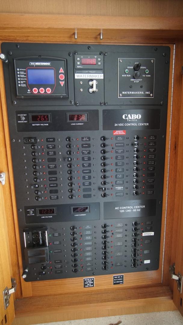Cabo-40 Convertible 2009-Rip Rider Orange Beach-Alabama-United States-AC DC Electrical Panel-1440110 | Thumbnail