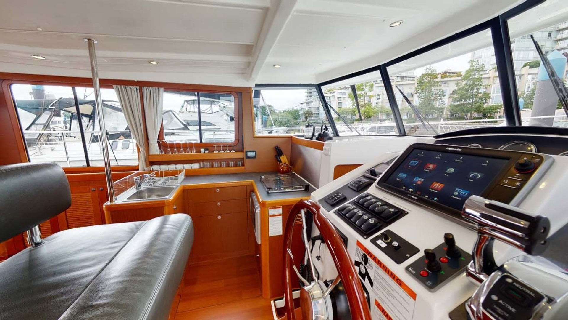 Beneteau-Swift Trawler 34 2015-Bon Sejour Vancouver, BC-Canada-Galley and Lower Helm-1441051 | Thumbnail