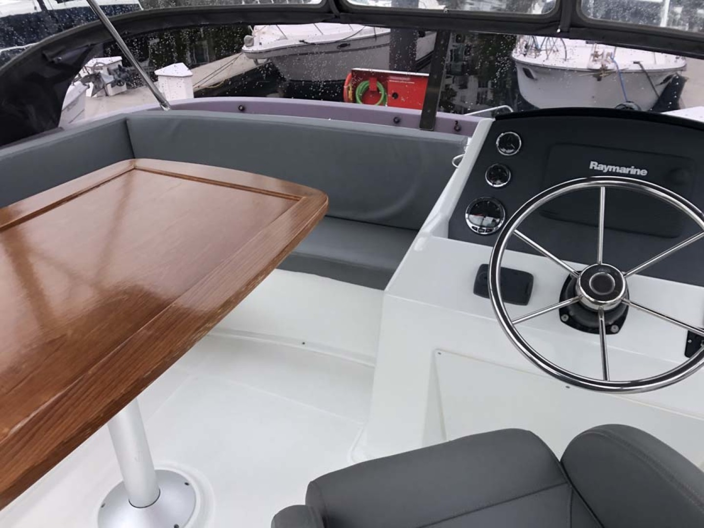 Beneteau-Swift Trawler 34 2015-Bon Sejour Vancouver, BC-Canada-Flybridge Seating and Helm-1441091 | Thumbnail