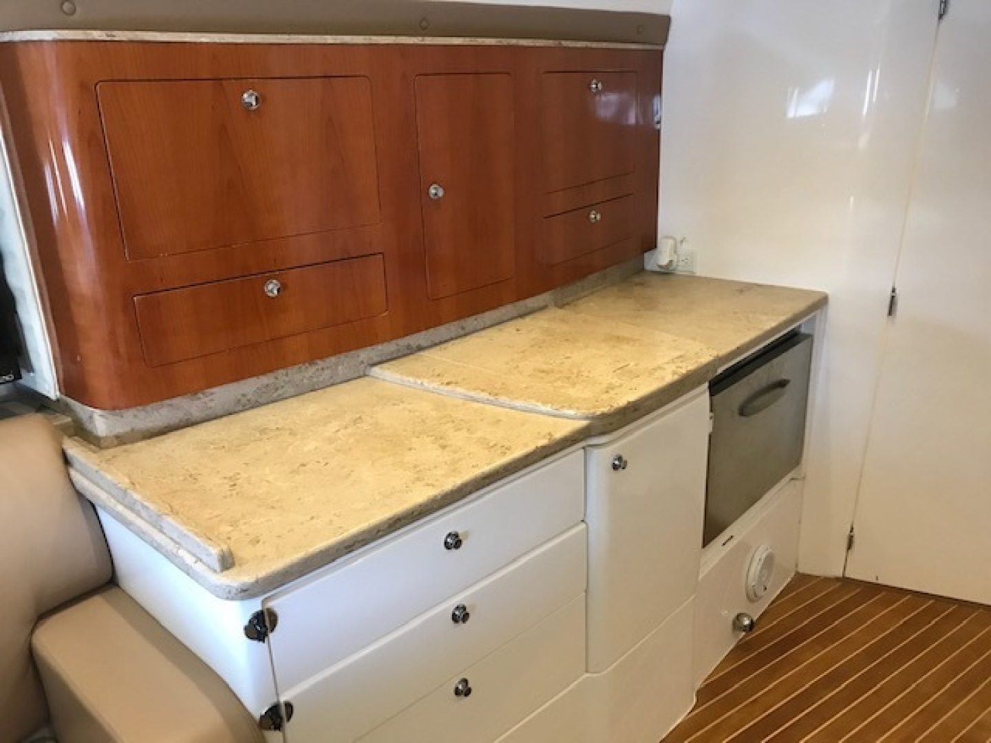 Intrepid 43 - Conched Out - Galley