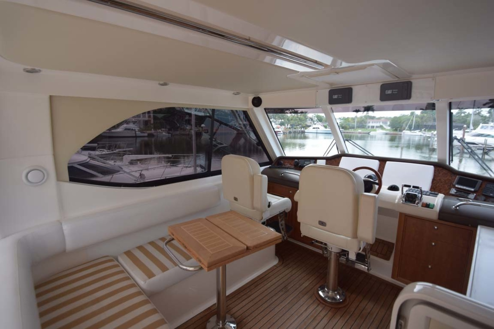 Riviera-Enclosed Flybridge 2007-Magica II Coral Gables-Florida-United States-Enclosed FB To Helm-1443151 | Thumbnail