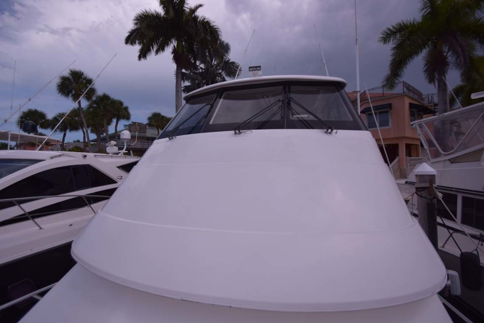 Riviera-Enclosed Flybridge 2007-Magica II Coral Gables-Florida-United States-Enclosed FB From Bow-1443142 | Thumbnail