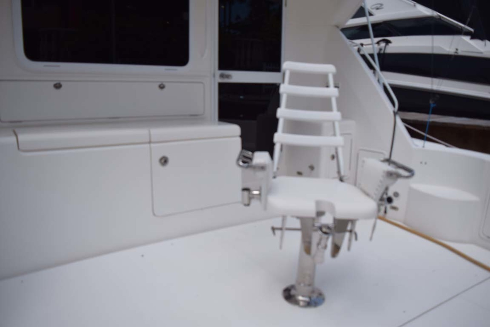 Riviera-Enclosed Flybridge 2007-Magica II Coral Gables-Florida-United States-Cockpit PORT Side View-1443185 | Thumbnail