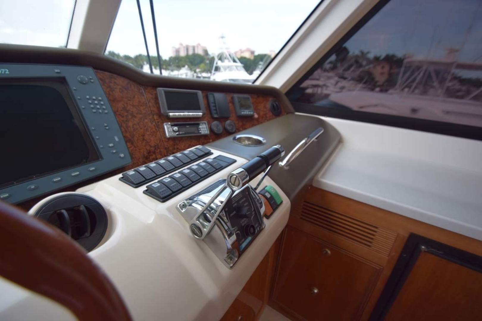 Riviera-Enclosed Flybridge 2007-Magica II Coral Gables-Florida-United States-Helm Overview Thursters Miscellaneous-1443148 | Thumbnail