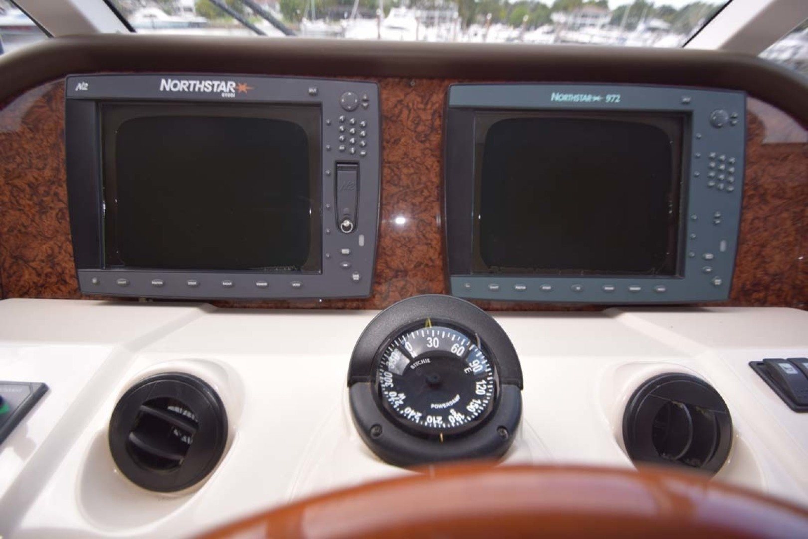 Riviera-Enclosed Flybridge 2007-Magica II Coral Gables-Florida-United States-Helm Electroniics-1443147 | Thumbnail
