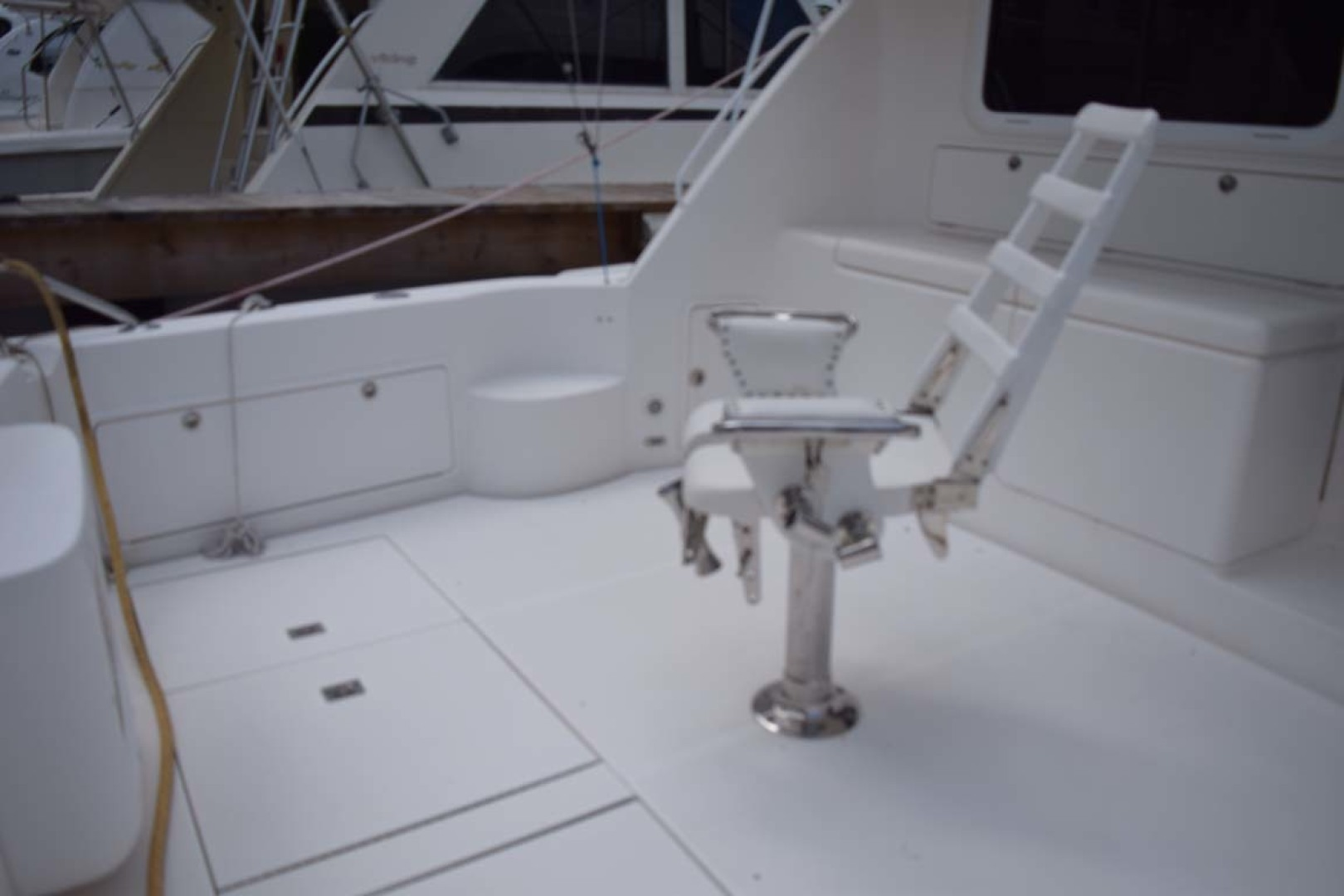 Riviera-Enclosed Flybridge 2007-Magica II Coral Gables-Florida-United States-Cockpit STBD Side View-1443184 | Thumbnail