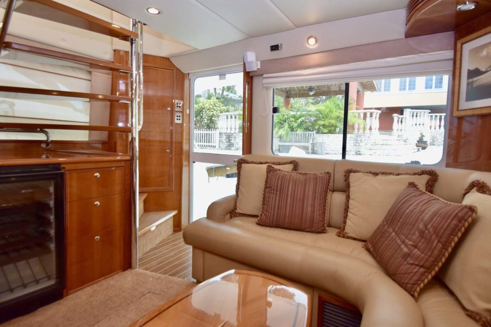Riviera-Enclosed Flybridge 2007-Magica II Coral Gables-Florida-United States-Salon to Aft View-1443159 | Thumbnail