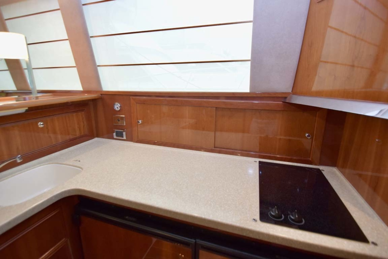 Riviera-Enclosed Flybridge 2007-Magica II Coral Gables-Florida-United States-Galley And Cooktop-1443173 | Thumbnail