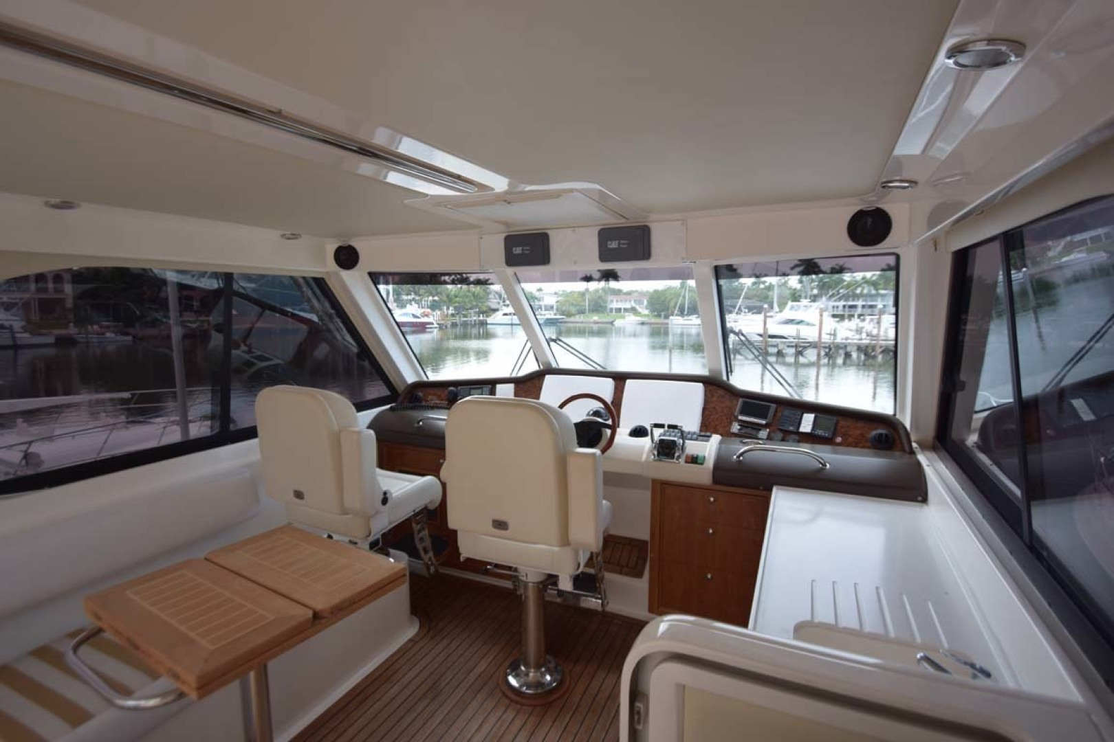 Riviera-Enclosed Flybridge 2007-Magica II Coral Gables-Florida-United States-Enclosed FB To Bow-1443152 | Thumbnail