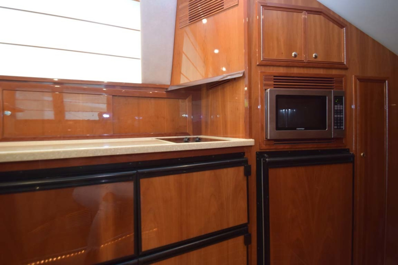 Riviera-Enclosed Flybridge 2007-Magica II Coral Gables-Florida-United States-Freezers, Cooktop, Microwave And Refrigerator-1443172 | Thumbnail