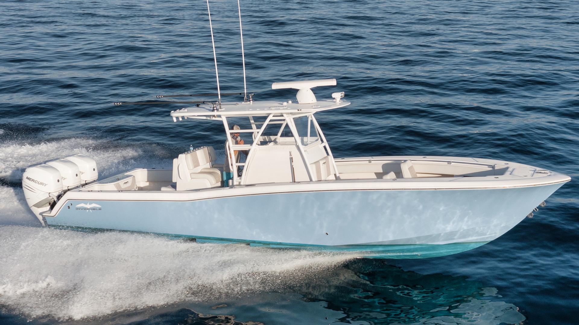 """2020 Invincible 36' 36 Open Fisherman """"Tender"""""""