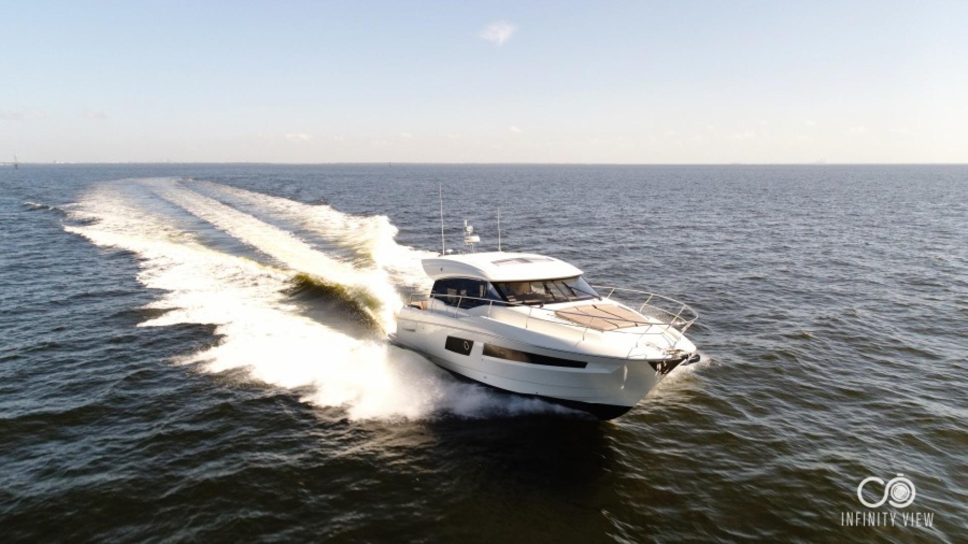 Prestige-460 S 2018-Unforgettable St Petersburg-Florida-United States-2018 Prestige 460 S Yacht  Unforgettable -Running Profile-1444292   Thumbnail