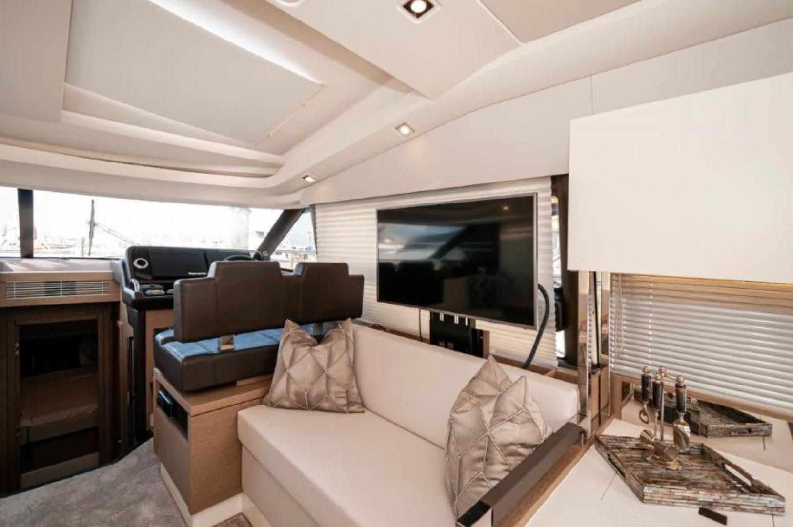 Prestige-460 S 2018-Unforgettable St Petersburg-Florida-United States-2018 Prestige 460 S Yacht  Unforgettable  Salon TV and Seating-1444317   Thumbnail