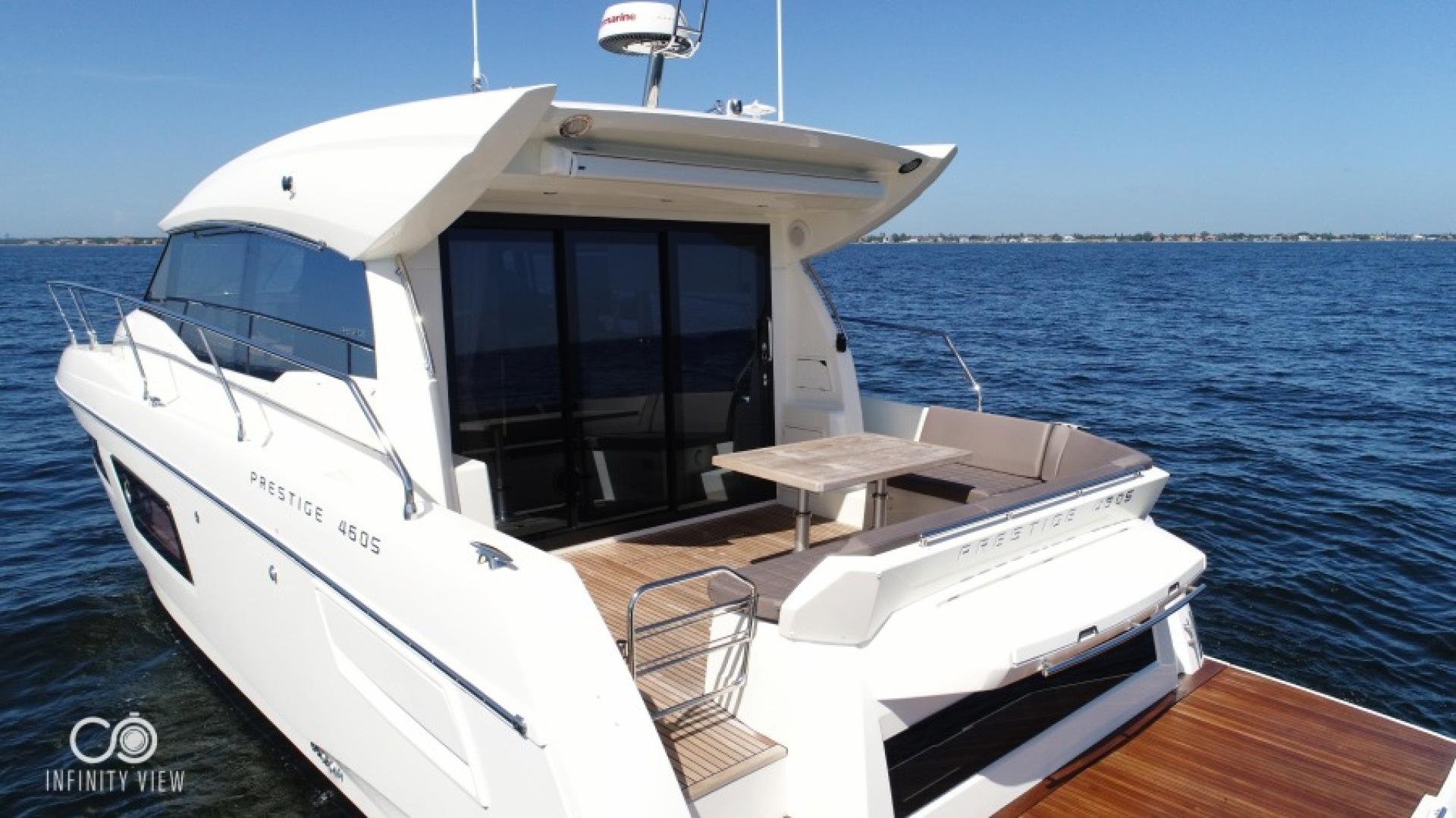 Prestige-460 S 2018-Unforgettable St Petersburg-Florida-United States-2018 Prestige 460 S Yacht  Unforgettable  Cockpit Profile-1444288   Thumbnail
