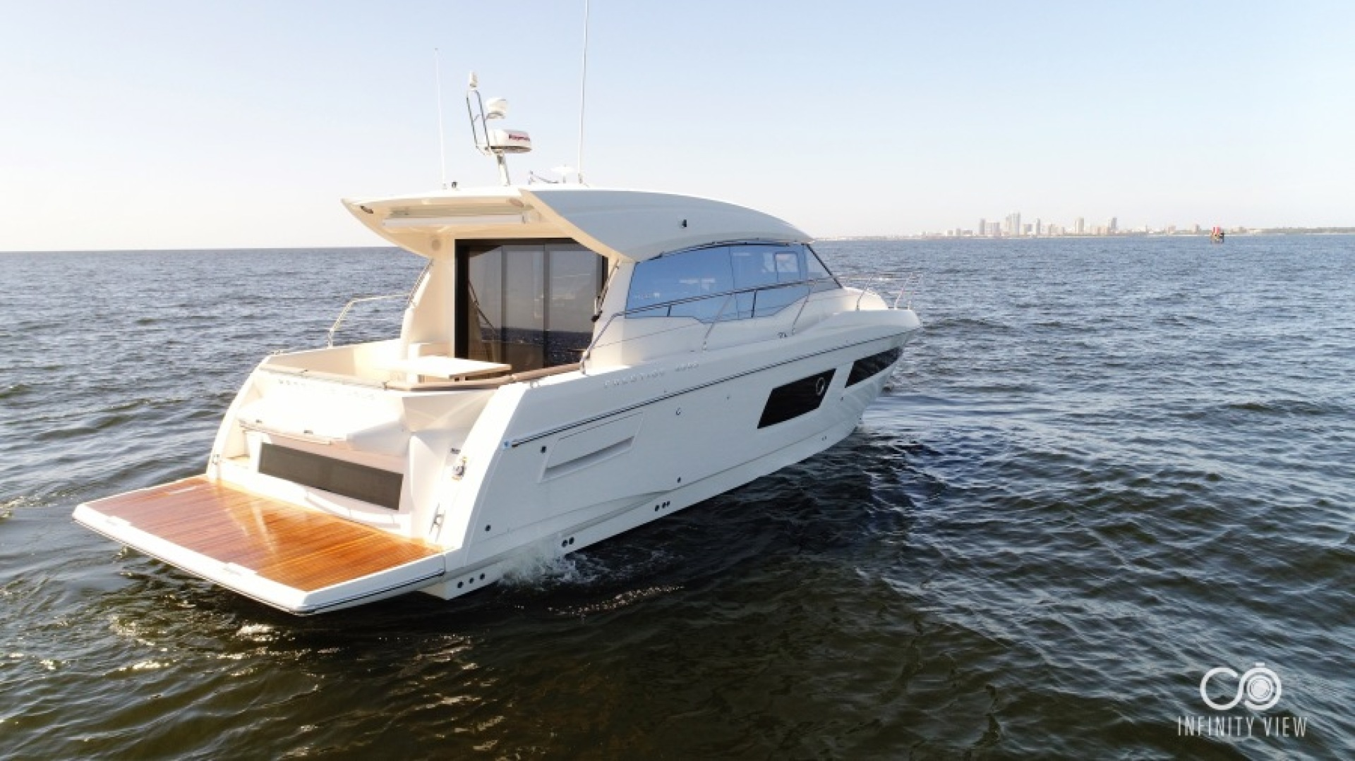 Prestige-460 S 2018-Unforgettable St Petersburg-Florida-United States-2018 Prestige 460 S Yacht  Unforgettable  Transom Profile-1444296   Thumbnail