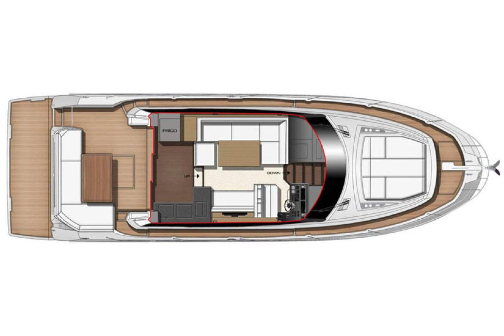 Prestige-460 S 2018-Unforgettable St Petersburg-Florida-United States-2018 Prestige 460 S Yacht  Unforgettable  Exterior Layout-1445413   Thumbnail