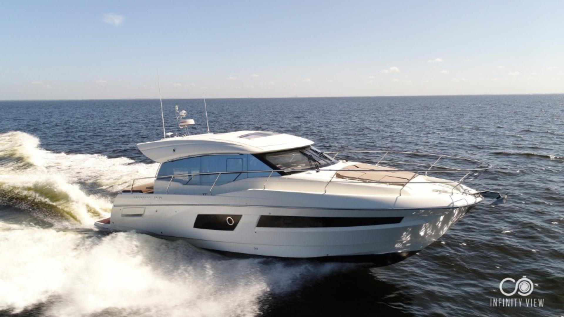 Prestige-460 S 2018-Unforgettable St Petersburg-Florida-United States-2018 Prestige 460 S Yacht  Unforgettable  Running Profile-1444297   Thumbnail