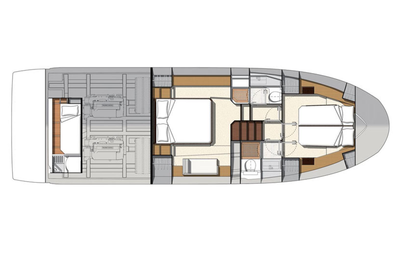 Prestige-460 S 2018-Unforgettable St Petersburg-Florida-United States-2018 Prestige 460 S Yacht  Unforgettable  Interior Layout-1445677   Thumbnail