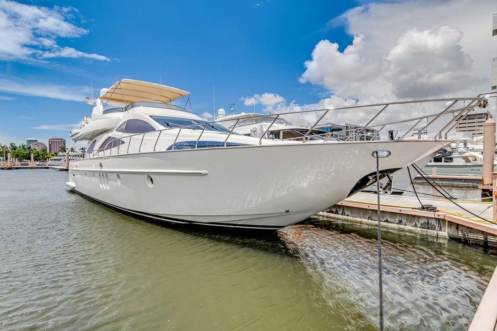 Azimut-Carat 2003-Anchor Management Palm Beach-Florida-United States-At Dock -1444677 | Thumbnail