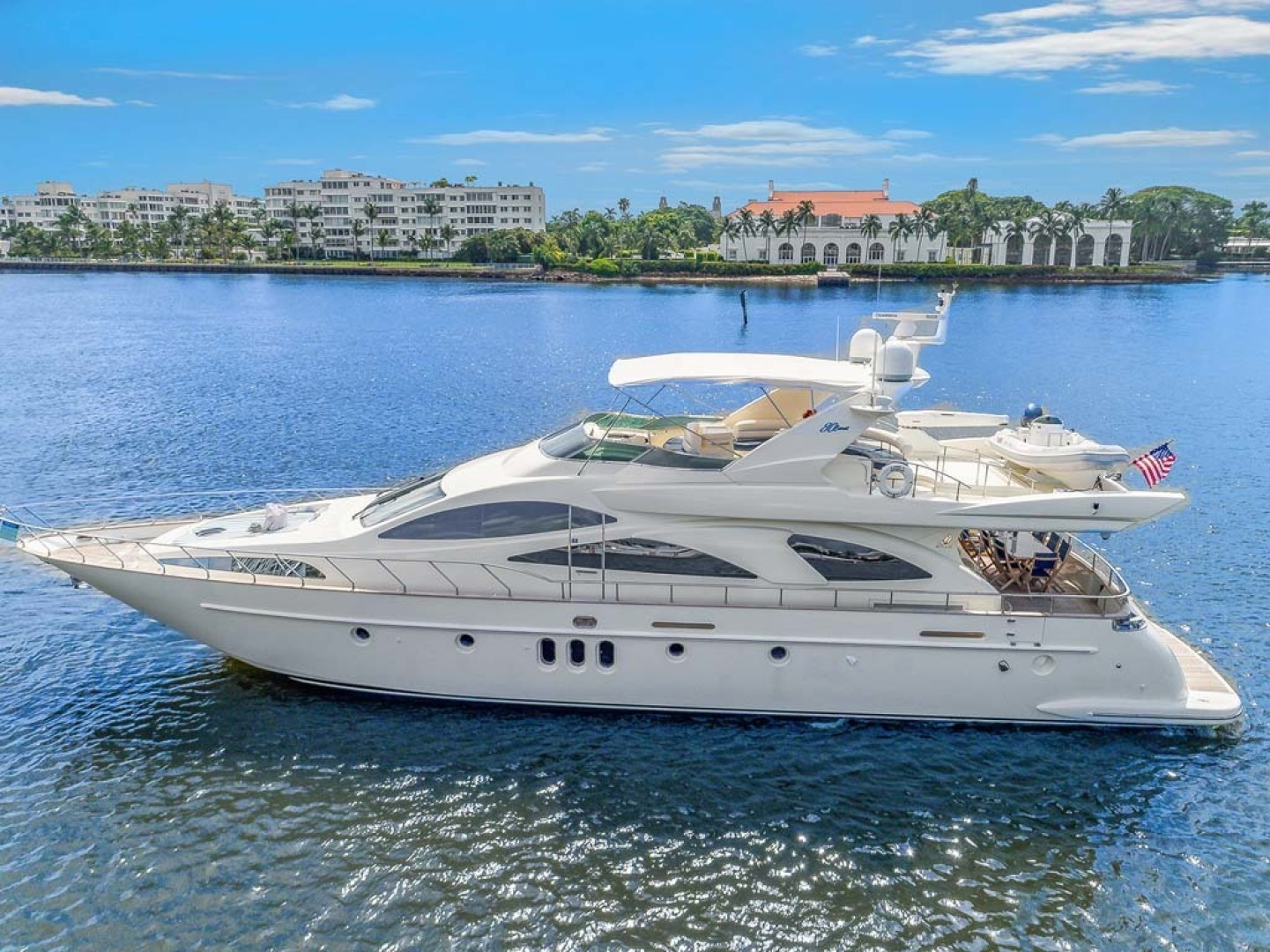 "2003 Azimut 80' 80 Carat ""Anchor Management"""