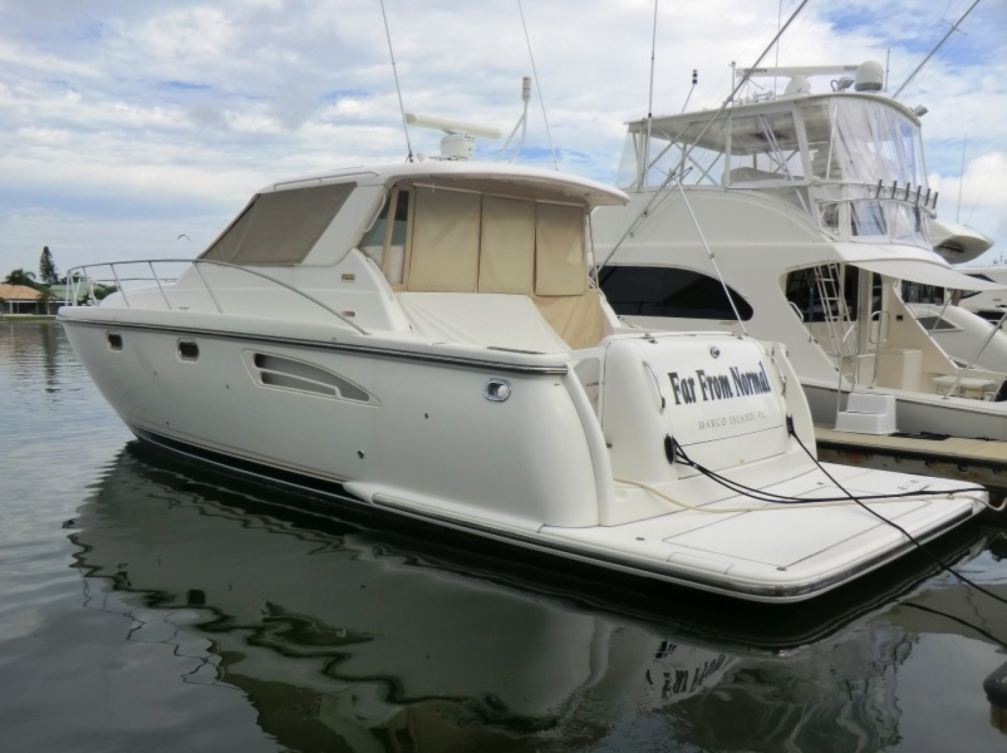 Tiara-44/4700 Sovran 2006-Far From Normal Marco Island-Florida-United States-Port Side-1446398 | Thumbnail