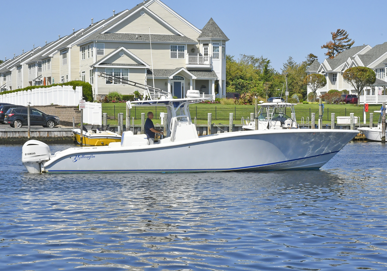 Yellowfin-36 Center Console 2019 -Patchogue-New York-United States-Starboard Side-1468840 | Thumbnail