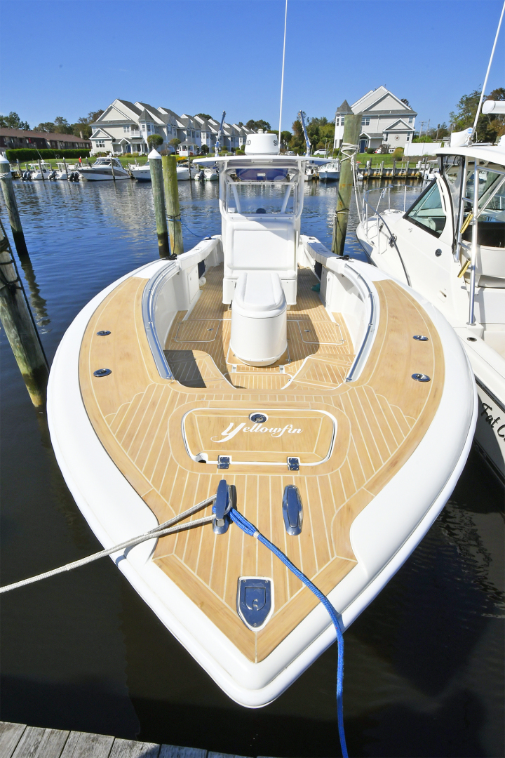 Yellowfin-36 Center Console 2019 -Patchogue-New York-United States-Custom Flex Teak Decking -1468834 | Thumbnail