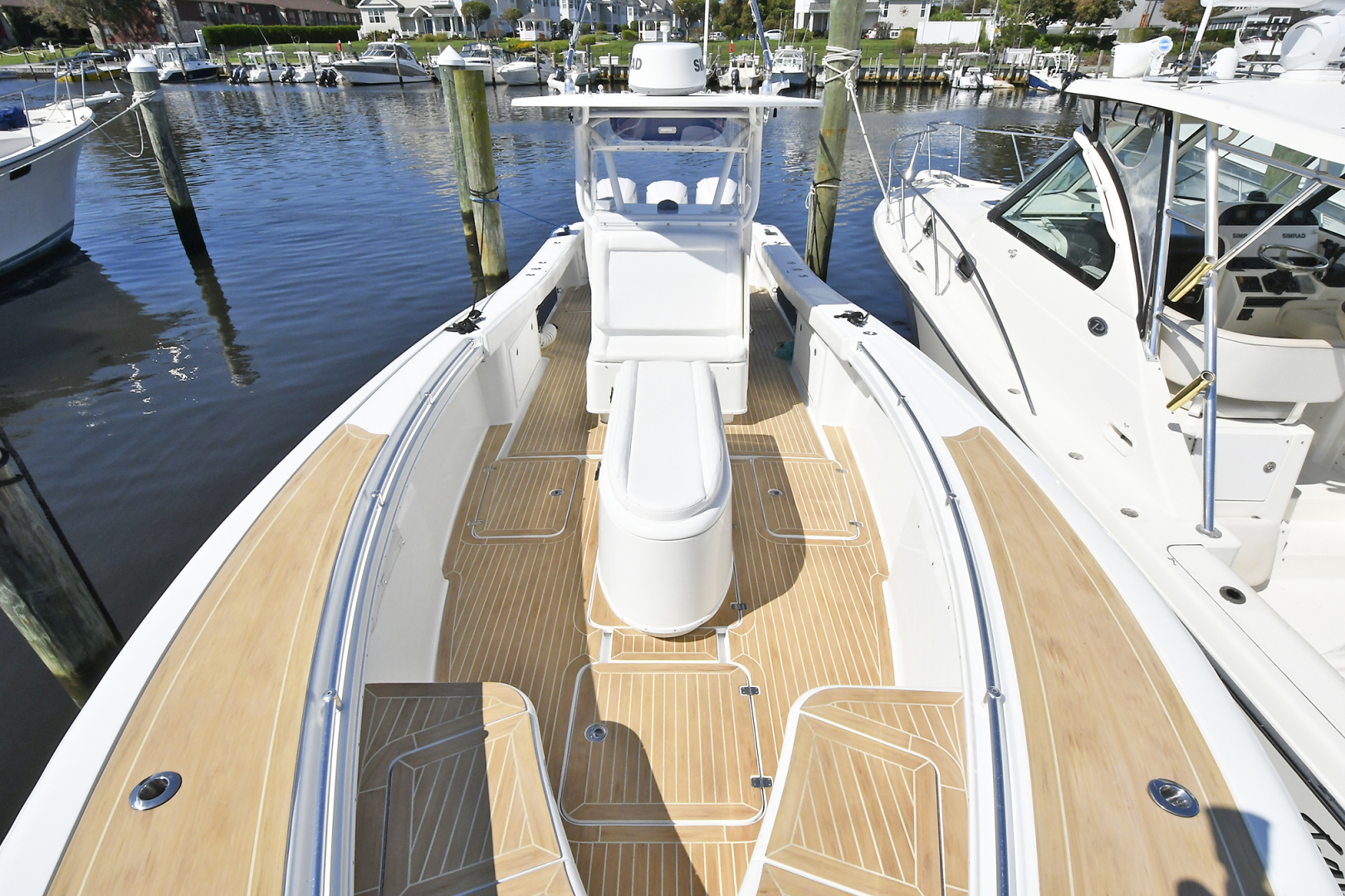 Yellowfin-36 Center Console 2019 -Patchogue-New York-United States-Custom Flex Teak Decking -1468833 | Thumbnail