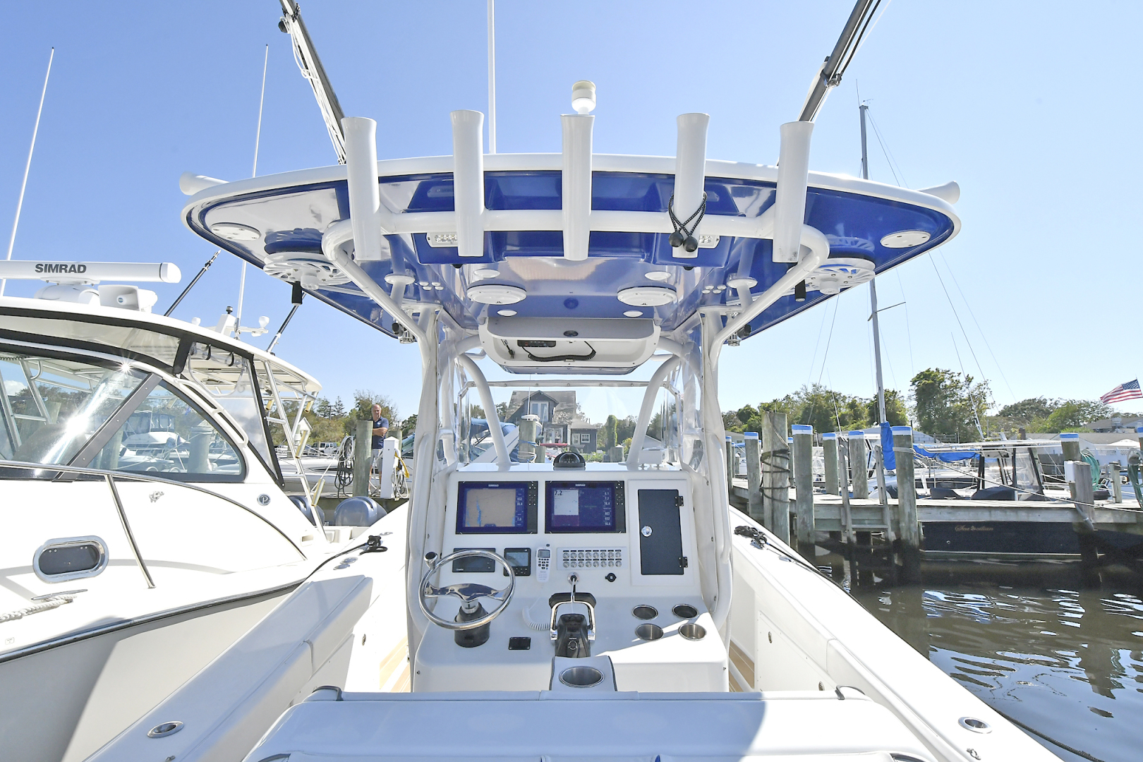 Yellowfin-36 Center Console 2019 -Patchogue-New York-United States-Custom Rod Holders-1468836 | Thumbnail
