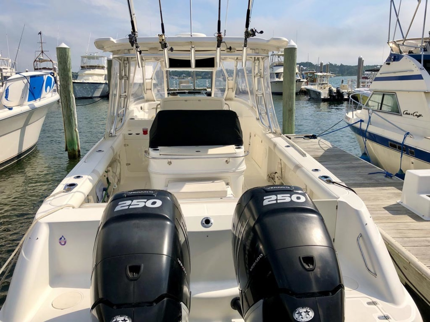 Boston Whaler-320 Outrage Cuddy Cabin 2008 -Onset-Massachusetts-United States-Twin Mercury Verado 250s-1447542 | Thumbnail
