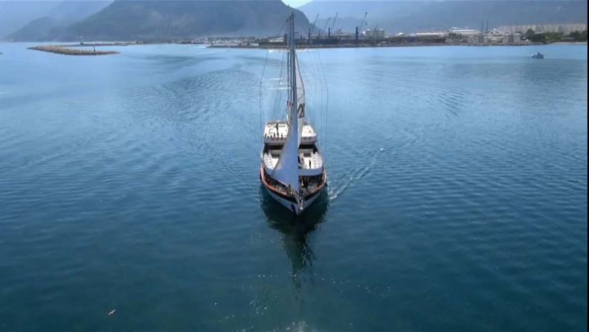 Custom-LZ-140 2009-My Dream Batumi-Georgia-Aerial  Bow View-1447610 | Thumbnail