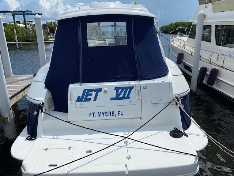 Cruisers-420 Express 2008-Jet VII St Petersburg-Florida-United States-2008 42 Cruisers Express Yacht   Jet VII Transom-1466689 | Thumbnail