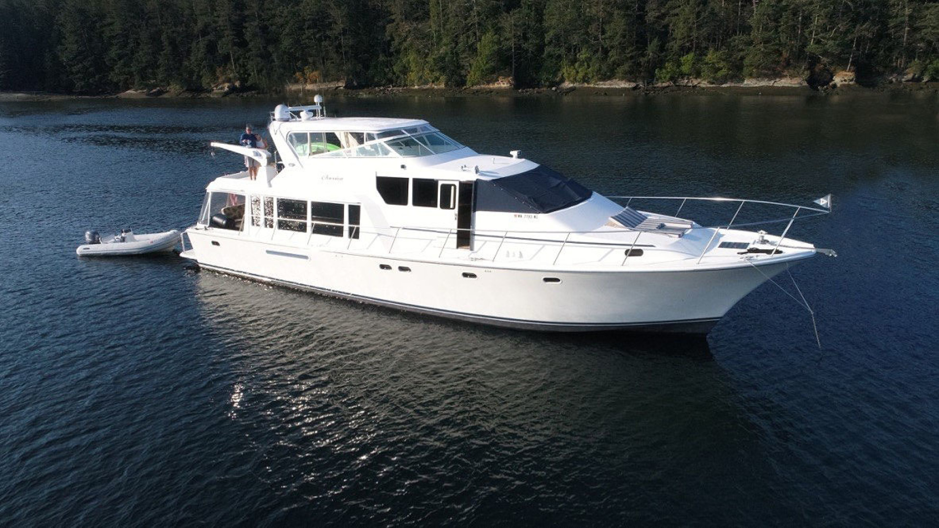 65' Pacific Mariner 1997 Pilothouse Obsession