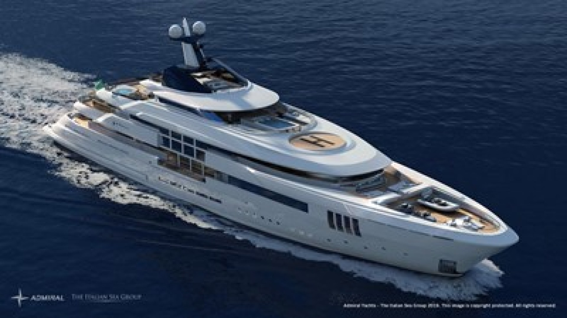 Picture Of a 2023 Admiral 213  Motor Yachts | 1450901