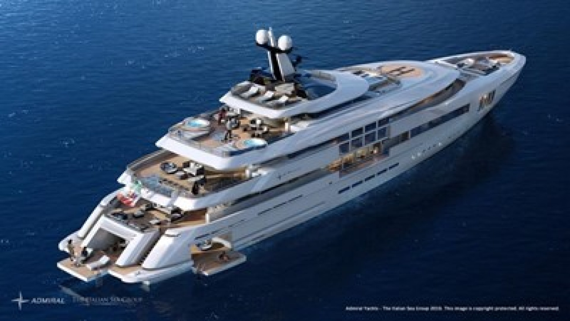 Picture Of a 2023 Admiral 213  Motor Yachts | 1450902