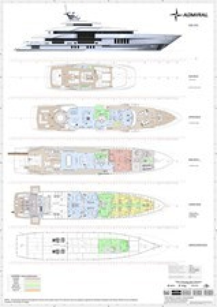 Picture Of a 2023 Admiral 213  Motor Yachts | 1450903